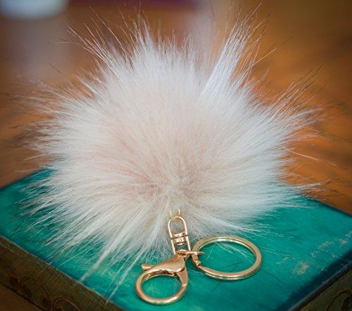 3-pour-2-12-cm-grand-fluffy-imitation-fausse-fourrure-raton-laveur-style-pom-pom-big-etui-porte-cles