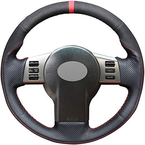 FANGPAN Leder Auto Lenkradbezug, für Infiniti FX FX35 FX45 2003-2008, für Nissan 350Z 2003-2009 (Infiniti Fx35 2003)