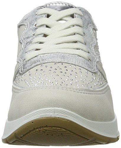Jenny Damen Glendale Sneaker Weiß (cloud,silber/rosegold)