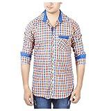 Aedi's Men Cotton Casual Checkered Shirt...