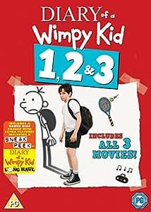 Diary Of A Wimpy Kid 1 3 Dvd 2017 Amazon Co Uk Zachary Kid Diary Wimpy