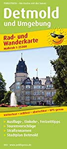 Eiderstedt, St. Peter-Ording - Husum - Tönning: Rad- und Wanderkarte mit Ausflugszielen und Freizeiteinrichtungen, wetterfest, reissfest, abwischbar. 1:50000
