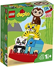 LEGO 10884 DUPLO My First Balancing Animals Building Bricks Set, Preschool Toys for 1.5 Years Old