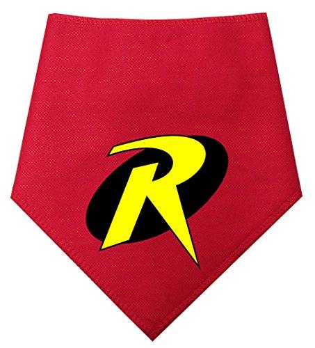 S2 Sidekick Robin, Cape Crusader, Superheld Hund Bandana Reihe. Für Umhang Hunde Crusaders (Größe 2Small/Medium Dog–Passt 27,9cm-40,6cm Hals, Robin) (Hund Superhelden Cape)