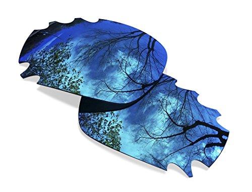 sunglasses restorer Ersatzgläser für Oakley Jawbone Vented | Polarized Ice Blue Linsen