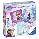 Ravensburger 07003 - Disney Frozen 3 Puzzle Progressivi