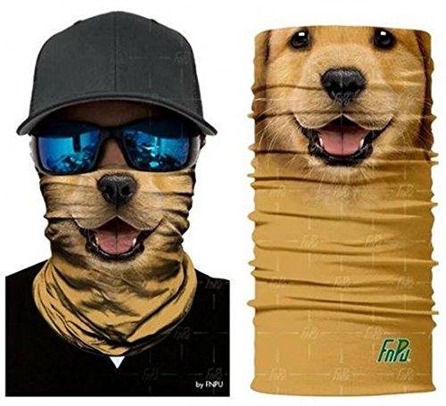 Perro Cráneo Tubular Máscara protectora contra polvo