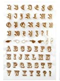 Tic-Tac Alphabétique Tampon De Silicone Dessin Transparent Pochoir ModèLe 11x16cm