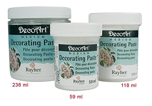 Rayher 38026000 Decorating-Paste, Dose 118 ml