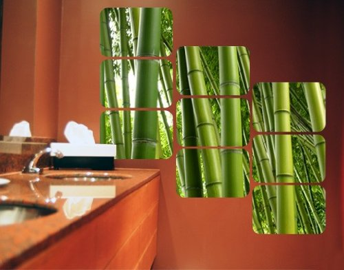 sticker-mural-adhesif-bamboo-trees-square-grosse36cm-x-54cm