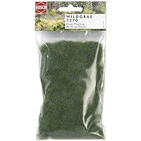 Extra long static grass dark green