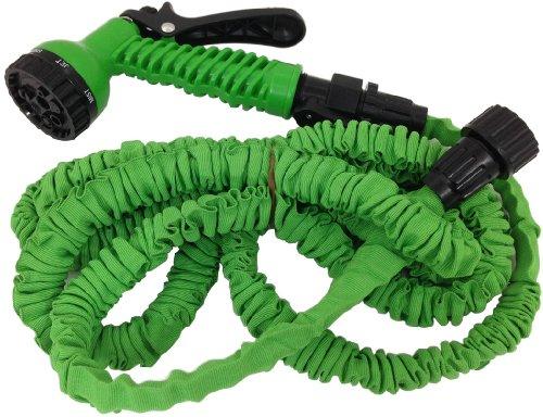 START SONDERANGEBOT Gartenschlauch Wasserschlauch flexibel selbstvergrössernd Flexi Schlauch 2,5m bis 30m (10.0m auf 30.0)
