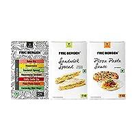 Fric Bergen Sandwich Spread Sauces, Pizza Pasta Dip/Sauce & Assorted Sauce - Combo (Pack of 3)