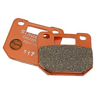 Bremsbeläge/Bremsklötze STAGE6 Semimetall R/T 4-Kolbenbremse für GILERA Runner 50 (bis Bj. 1999)