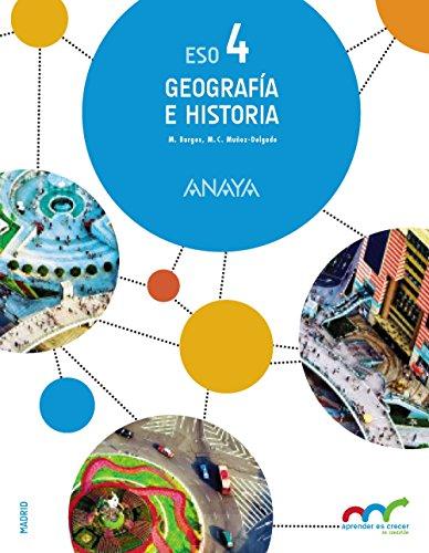 Geografía e Historia 4. (Trimestres) (Aprender es crecer en conexión) - 9788469811139 por Manuel Burgos Alonso