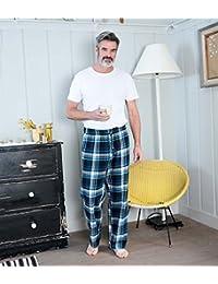 WoolOvers Pantalon de pyjama à carreaux - Homme - Pur Coton