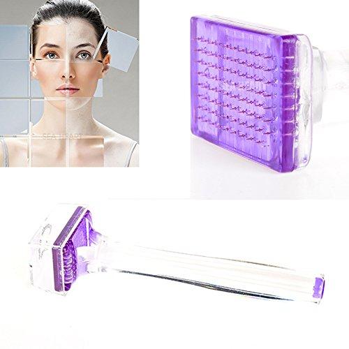 Dermapen con 80 micro agujas de 1,5 mm,el mejor dispositivo perforador para la estimulación localizada de rostro y cuerpo, tratamiento ideal para cicatrices de acné, estrías, celulitis, pigmentación y pérdida del cabello