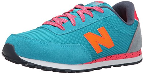 New Balance Youths Classics Mesh Trainers Teal