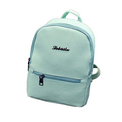 EVAEVA-bags UmhäNgetasche Schultertasche Aus Nylon Mädchen Leder Schultasche Reiserucksack Satchel Frauen Schulter Rucksack Schulrucksack Backpack -