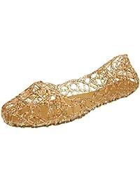 Donalworld mujeres verano transpirable Jelly nido soporte de sandalias zapatos de lluvia