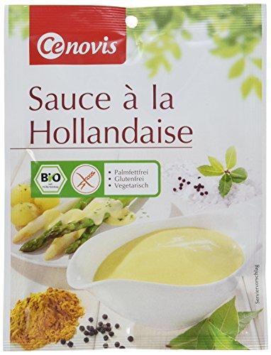 Cenovis Bio Sauce Hollandaise, glutenfrei und vegetarisch, 6er Pack (6 x 25 g)
