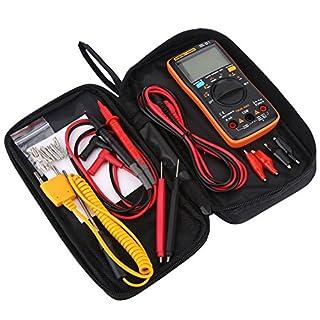 FTVOGUE Digital Multimeter AN8009 Auto Range True RMS AC/DC Voltage Electronic Meter Measure Voltage Current Resistance
