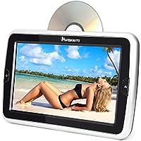 10,1 Zoll Auto Monitor Slot-in DVD Player HD Kopfstütze Bildschirm HDMI System unterstützt Spiel USB SD FM IR für Kinder NAVISKAUTO CH06