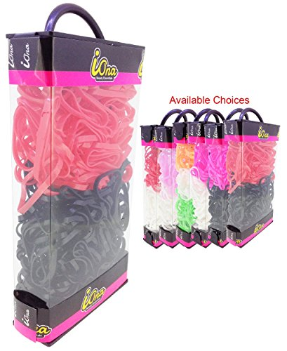 iOna Beauty Essentials PTSET4G6F Hair Band Rubber Bands Elastics Hairband Ponytailer for Girls  available at amazon for Rs.109