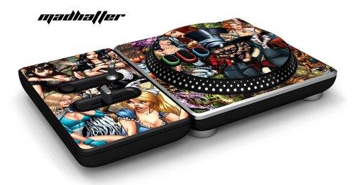 DJ Hero Turntable Controller Schutzfolie, passt für Xbox 360, Playstation 2 & 3 - Mad Hatter