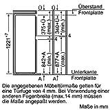 Neff KT434A2 Einbau-Kühl-Gefrierkombination / 122,5 cm / A++ / Kühlteil: 150 Liter / Gefrierteil: 41 Liter / Flachscharnier Vergleich