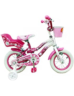 Schiano Cicli Bicicletta 12 Butterfly 01V. Bianco/Rosa