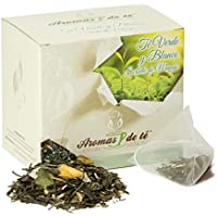 Aromas de Té - Té Verde Sencha y Blanco Pai Mu Tan Sorbete de Mango en