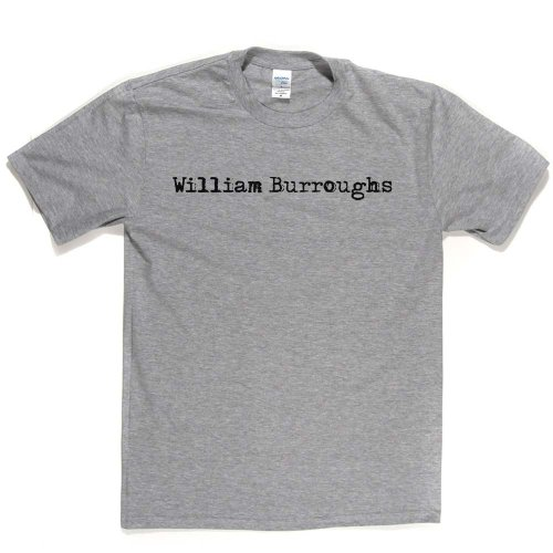 William Burroughs American Novelist Essayist Painter Writer Tee T-shirt Ash Grey