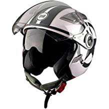 BHR 93280 Casco, Diseño Star Blanco, ...