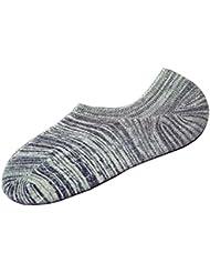 2 paires Hommes chaussettes en coton Chaussettes Shallow Mouth Chaussettes invis