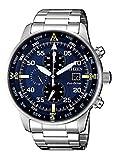 Citizen Herren Chronograph Quarz Uhr mit Edelstahl Armband CA0690-88L
