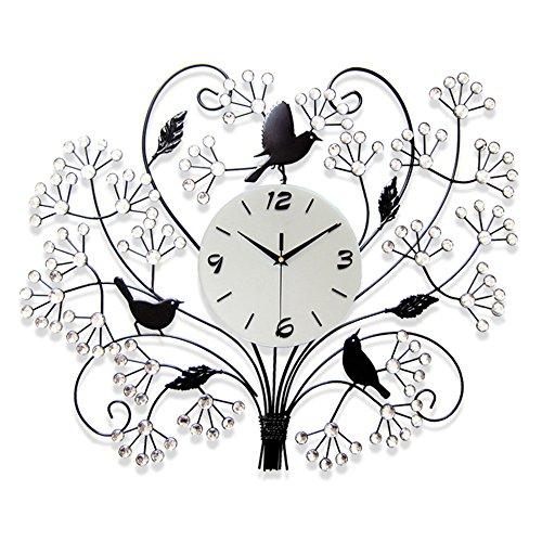 Flashing- Moderne Stille Große Quarz Uhr Wanduhr Einfache Schlafzimmer Mit Wohnzimmer Uhr ( Farbe :...