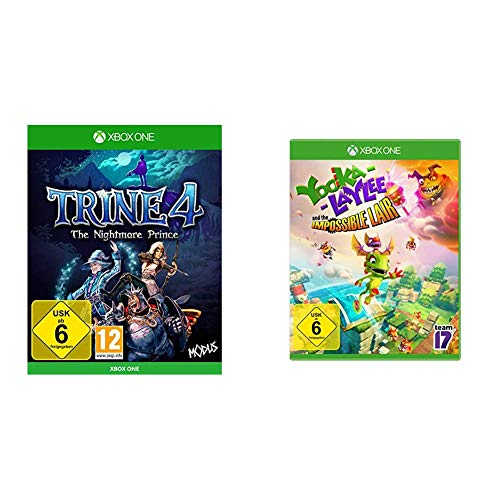 Trine 4 - The Nightmare Prince & Yooka -Laylee and the Impossible Lair - [Xbox One]