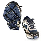Pawaca Universal Anti-Slip Shoes Ice Gripper, 1 Paio Snow Walk Traction Cleats Winter Walker...
