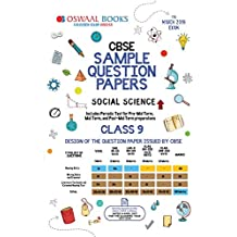 Oswaal CBSE Sample Question Paper Class 9 Social Science (For March 2019 Exam)