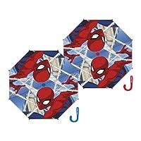 Arditex SM12324 Spider Polyester Auto Umbrella, Multi-Colour, 48/8