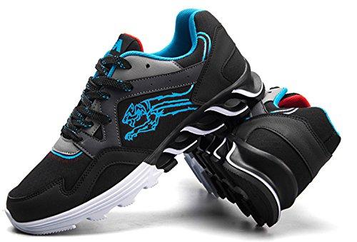 Lfeu Chaussures De Gymnastique Artistique Bleues Pour Hommes