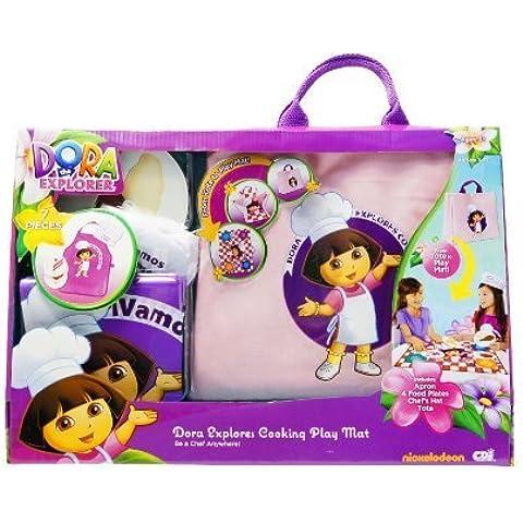 Dora Explores Cooking (Play Mat) by Dora the Explorer