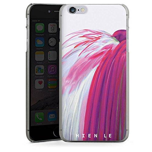 Apple iPhone X Silikon Hülle Case Schutzhülle HIEN LE Vogel Fashion Hard Case anthrazit-klar