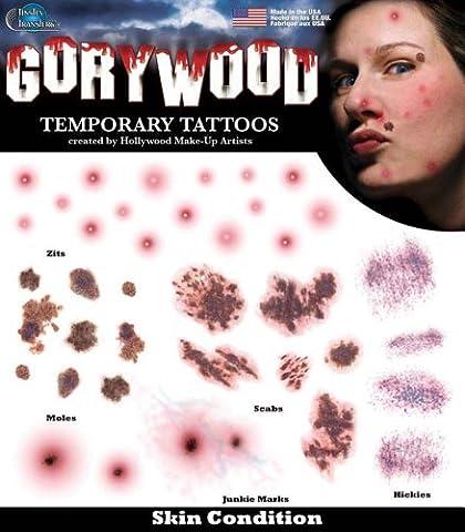 Condition de la peau - Transferts Tinsley - Tatouages ??de Hollywood .