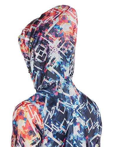 Intimuse Damen leichte Freizeitjacke Mehrfarbig (Bunt 045)