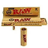 RAW Connoisseur King Size Slim Classic Rolling Papers & Pre-Rolled Tips (2 Packs)