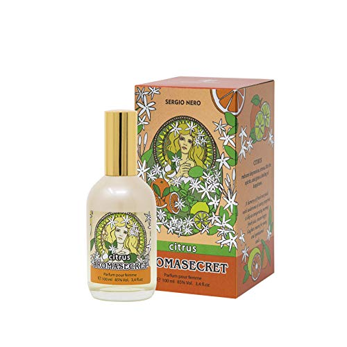 AROMASECRET Citrus Perfume de mujer, 100 ml – CONCEPTO Nuevo de Perfumería – La mejor idea de un regalo para Ella