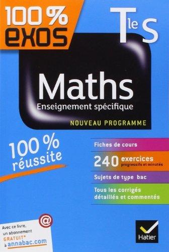 Maths Tle S Enseignement spécifique: Exercices résolus - Terminale S de Fabrice Barache (8 août 2012) Broché