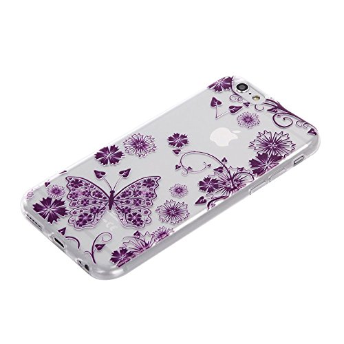 """For IPHONE 6 4.7""""[COLORFUL TPU DTV2]Scratch-Proof Ultra Thin Rubber Gel TPU Soft Silicone Bumper Case Cover -DTPUV204 DTPUV202"""